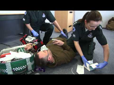 Traumatic Brain Injury scenario - Paramedic assesment