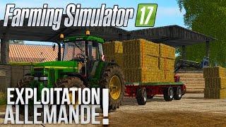 Farming Simulator 17 | L'Exploitation Allemande | Episode 4 | Plateau de paille!