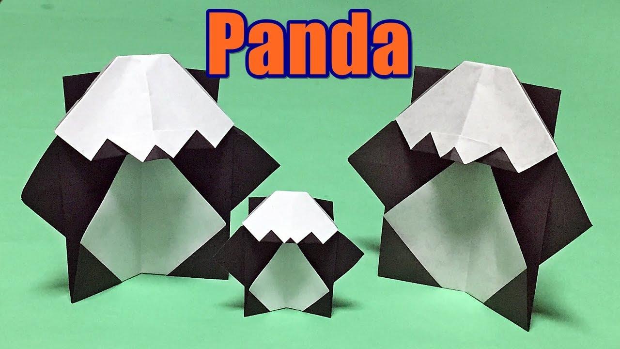 Origami Panda Easy Instructions