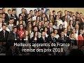 Meilleurs apprentis de France : remise des prix 2018
