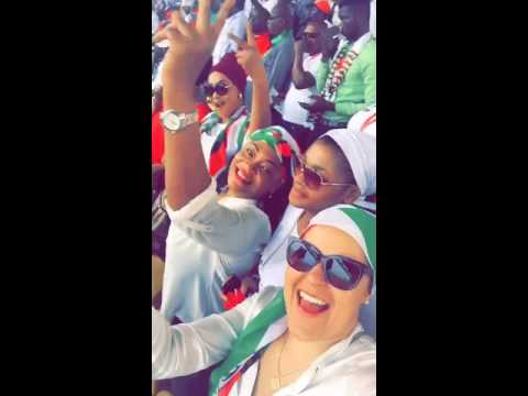 Watch Actress Kalsum Sinare Chilling Out At NDC Campaign Launch