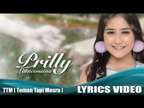Prilly Latuconsina - Teman Tapi Mesra (Official Lyric Video)