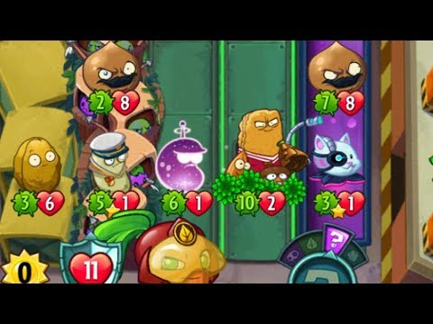Go-Nuts - Event Card in Beta-Carrotina Strategy Deck - Plants vs Zombies Heroes Gameplay