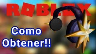 Como conseguir el North Star Headphones - Roblox [ Evento ]