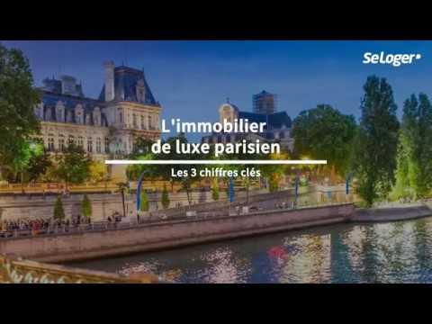 Les 3 chiffres clés du marché immobilier de luxe parisien