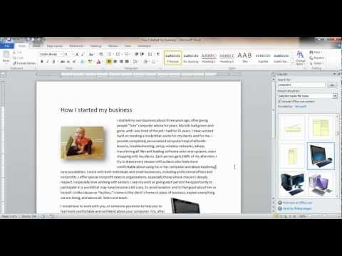 How to wrap text around a photo in word for mac