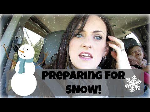 Preparing for SNOW {Daily Vlog}