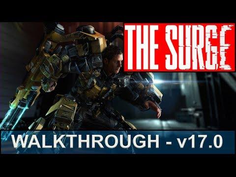 The Surge Walkthrough - Part 17 - Executive Forum, Meeting Sally, Don Hackett, and Irina Beckett