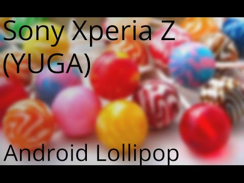 Sony Xperia Z (YUGA) Android 5.0 Lollipop