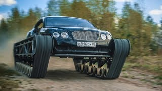 Bentley Ultratank. The first run.
