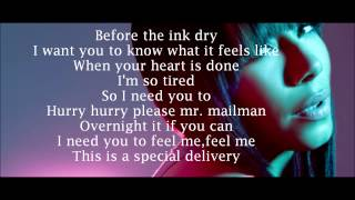 Bridget kelly- Special delivery (lyrics) YouTube Videos