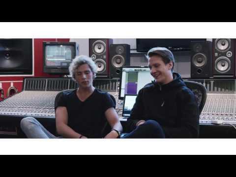 """Christopher & Matoma - """"Take Me Back"""" in the studio"""