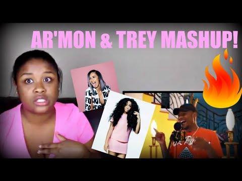 Armon & Trey SZA - Love Galore | Cardi B - Bodak Yellow |Kendrick Lamar - LOVE  MASHUP Reaction!