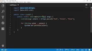 Java_ListOf_List 제네릭 클래스 만들고 출…