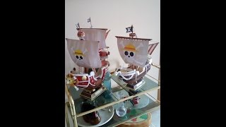 How to make a Papercraft: One Piece THOUSAND SUNNY (PHOTO TUTORIAL)