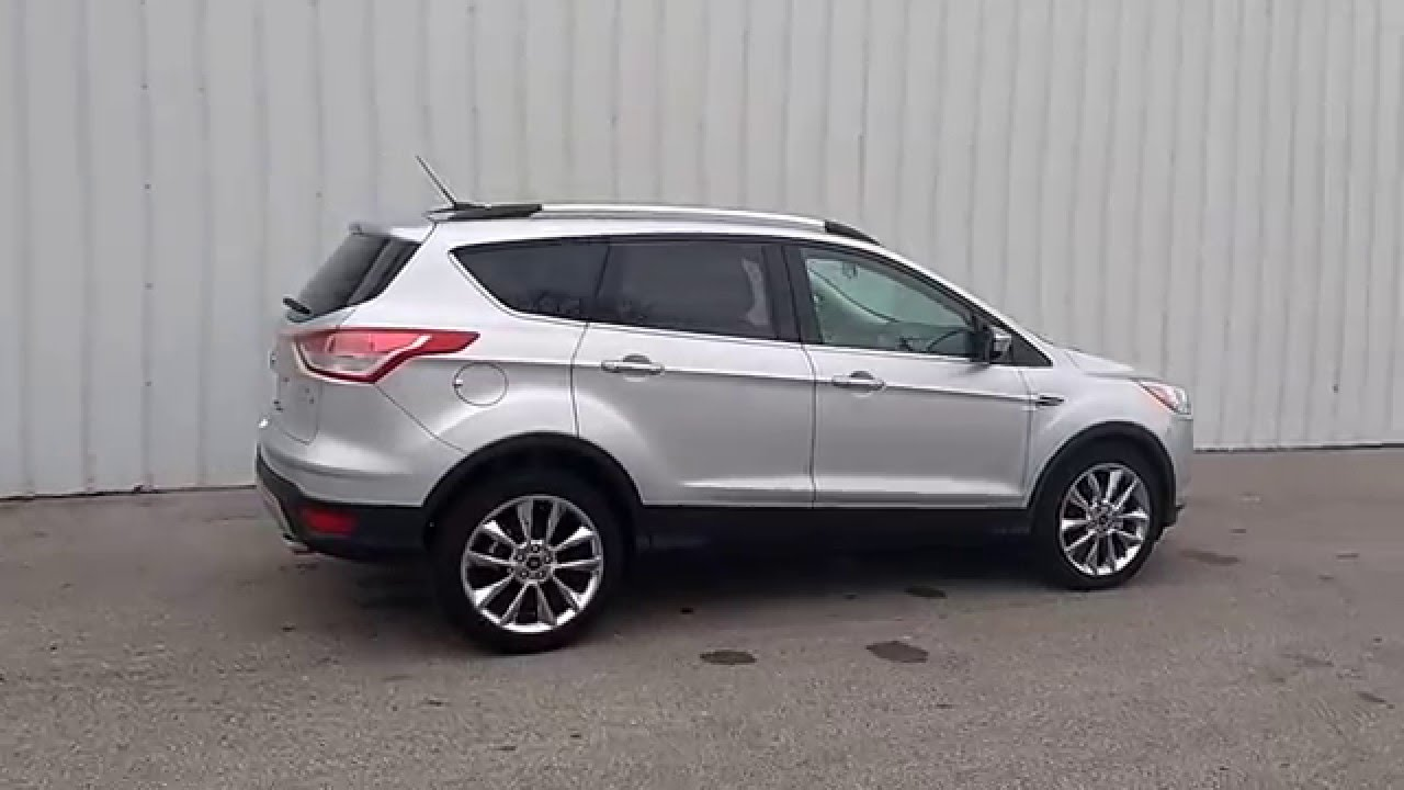 Ingot Silver 2016 Escape SE FWD  16L  201A  Chrome Pkg