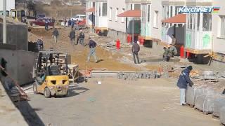 Керчь: В домах для переселенцев с Цементной слободки идут отделочные работы