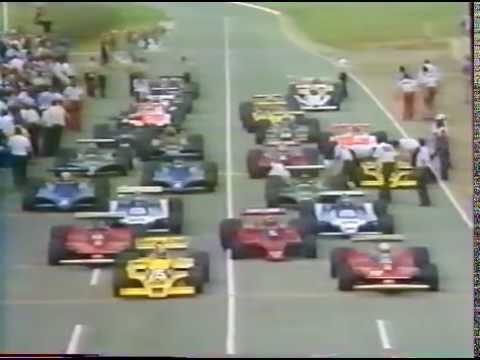 Formula 1 1979 Season, Round 3. South African G.P. - Kyalami - victory by G.Villeneuve. Part 1/3