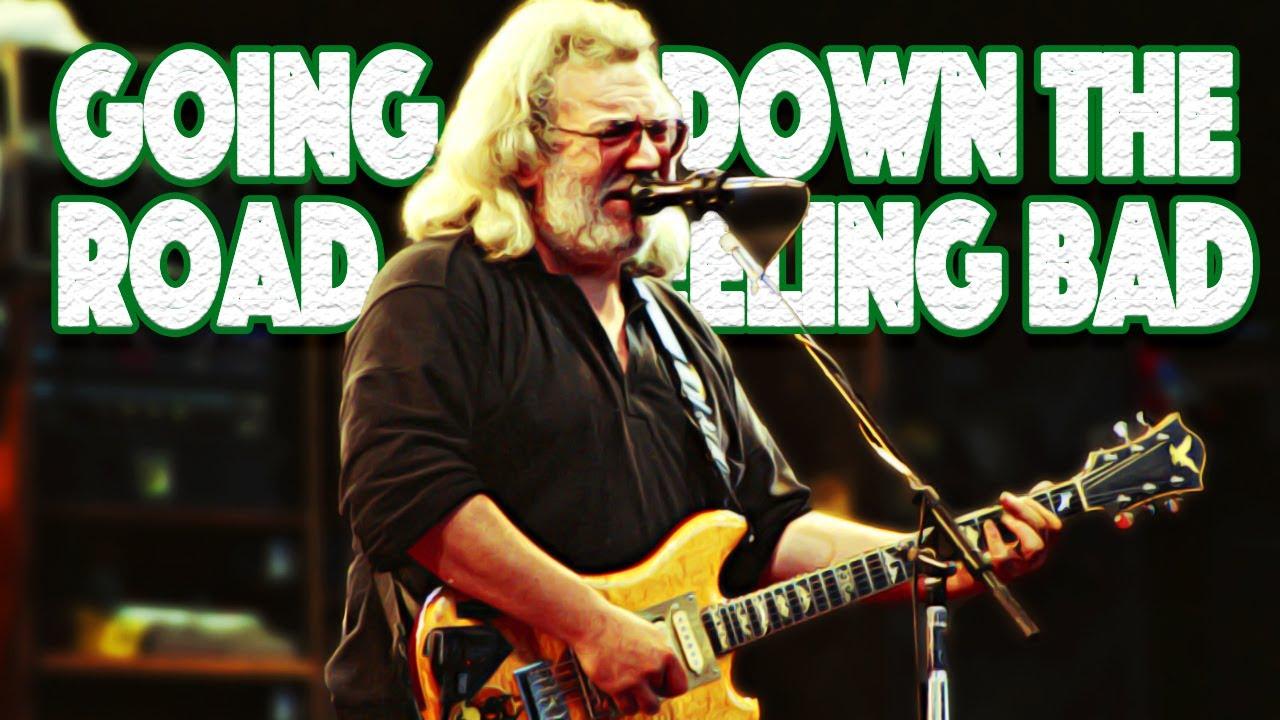 Going Down The Road Feeling Bad - Jerry Garcia (Rhythm Guitar Lesson)