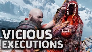 God of Wars Most Vicious Executions