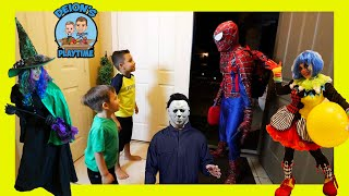 Don't Choose the Wrong Babysitter   a Clown, a Witch and Spider-Man   Deion's Playtime