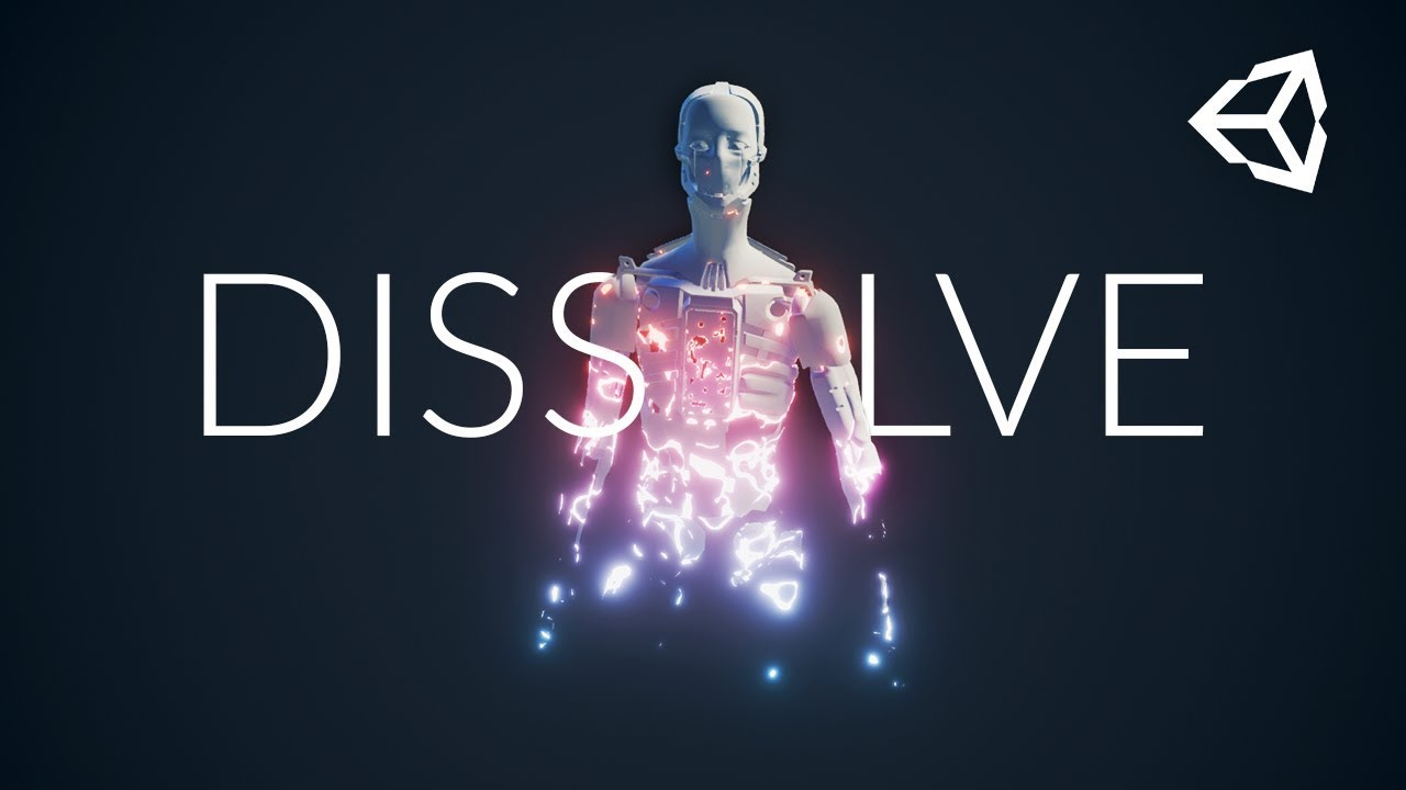 DISSOLVE using Unity Shader Graph