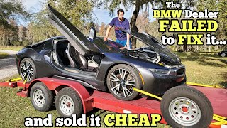 I Bought this $150,000 BMW Supercar and Got 70% OFF because the DEALER COULDN'T FIX IT! (Lemon)
