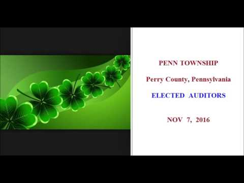 2016.11.07 - Penn Twp Elected Auditors Meeting
