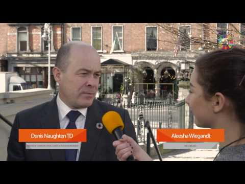 Minister Denis Naughten TD at #Coalition2030 launch  🌍  1.3.17