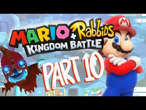 Mario + Rabbids Kingdom Battle Walkthrough Part 10! Ghosts, Ghosts EVERYWHERE!!