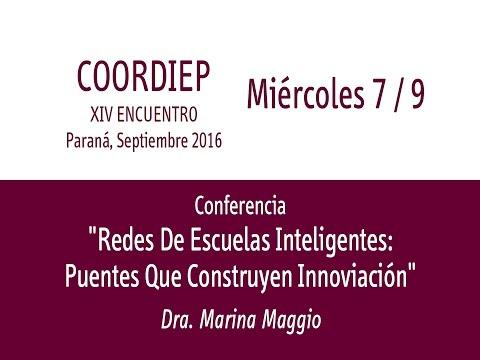 XIV Encuentro COORDIEP Parte 10 - Conferencia - Dra  Mariana Maggio