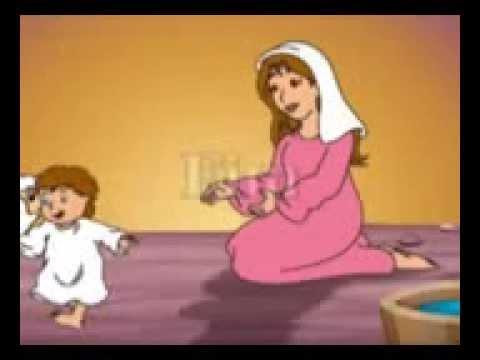 Nascimento De Jesus Historia Em Desenho Youtube