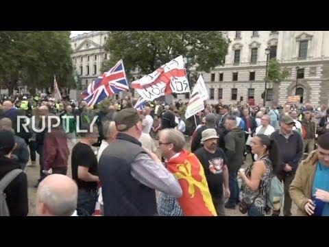 LIVE: Pro-Brexit protest
