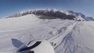 Skiing at Copper Mountain, Colorado