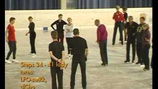 The Ravensburger Waltz - 2010 ice dance course with Jimmy Young