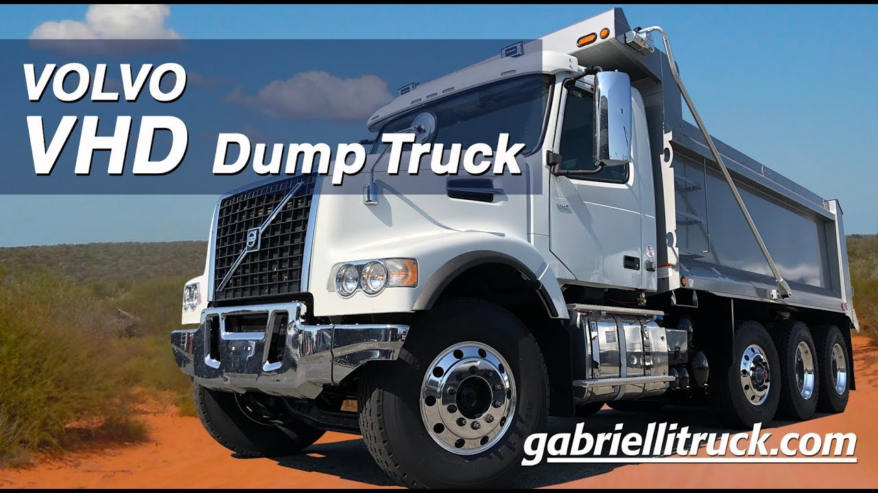 New 2019 Volvo VHD TRI-AXLE Dump Truck For Sale