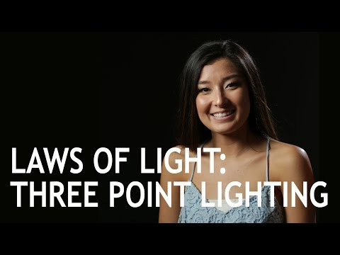 Laws of Light: Three Point Lighting