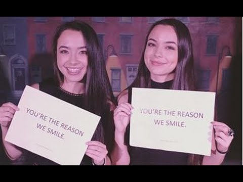 """The Merrell Twins Tour (Snapchat edition)"""