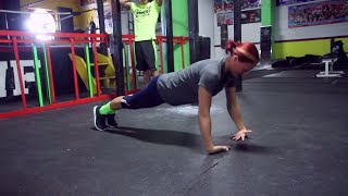 The Craziest Push Ups You Ever Seen!