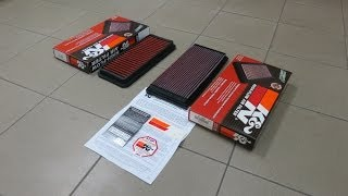 The differences between a Genuine K&N Air Filter & an Imitated K&N Air Filter