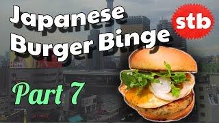 Thai-Style Freshness Burger // Amazing Food in Japan // Japanese Burger Binge Part 7