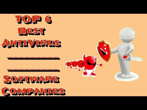 TOP 6 Best AntiVirus Software Companies!!!
