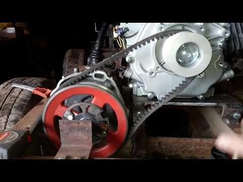 Сцепление на минитрактор переломка.Clutch For The Tractor