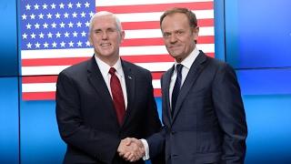 Майк Пенс передал послание о сотрудничестве с ЕС (новости)