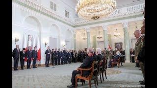 Prezydent wręczył odznaczenia z okazji Święta Niepodległości