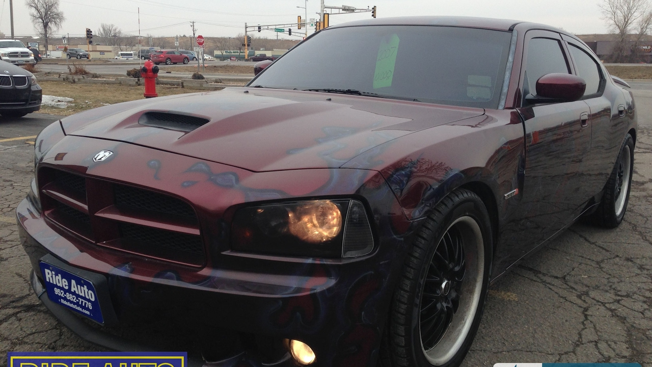 Ride Auto Sales >> 2007 Dodge Charger SRT8 CUSTOM PAINT lambo doors - YouTube