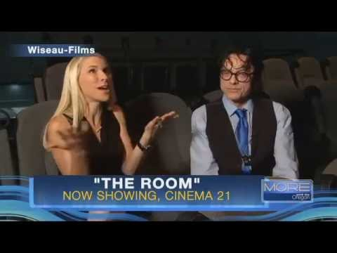 Actor, director Tommy Wiseau at Cinema 21