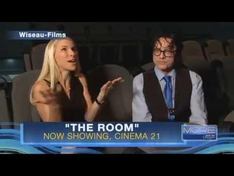 Actor, director Tommy Wiseau at Cinema 21