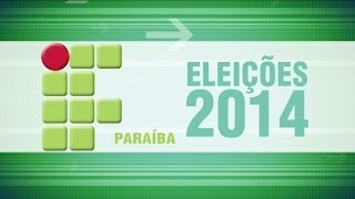 [Eleições 2014] Debate entre candidatos a Reitor (Campus Cajazeiras - IFPB)