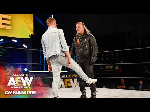 WAIT UNTIL YOU SEE WHAT HAPPENED WHEN JERICHO AND ORANGE CASSIDY FACED OFF | AEW DYNAMITE 6/24/20